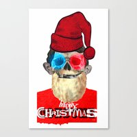 xmas Canvas Prints featuring Xmas by Marko Köppe