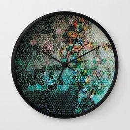 Lost Pieces Wall Clock