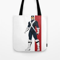 cyclops Tote Bags featuring Cyclops by Andrew Formosa