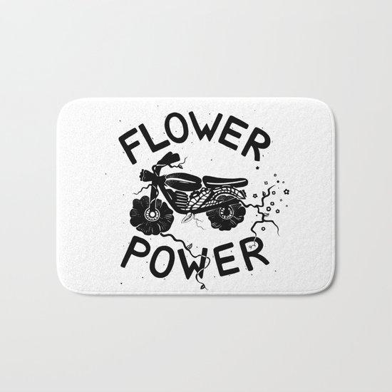 Floral Fuel Bath Mat