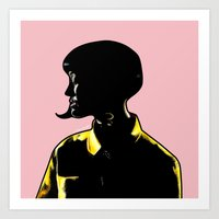 Katy Portrait Art - Inspired by Music Video - This Is How We Do  Art Print