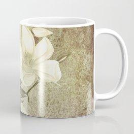 Magnolia Blossoms Textured Coffee Mug