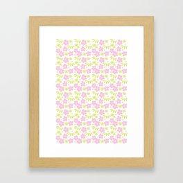 Japanese Pattern 6 Framed Art Print