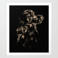 Lost in Space II Art Print