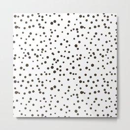 Scandinavian Hexagon  hand drawn Metal Print