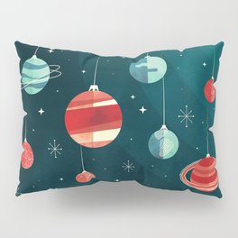 Joy to the Universe (in Teal) Pillow Sham
