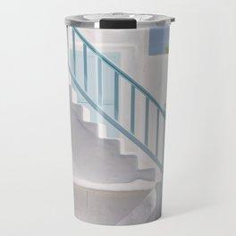 Stairway to heaven, Mykonos Travel Mug