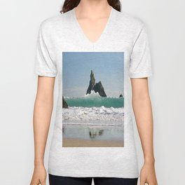 BroadHaven South Beach.Pembrokeshire.Wales. Unisex V-Neck