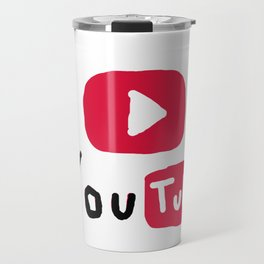 Only for Youtuber - YouTube lover best design Travel Mug