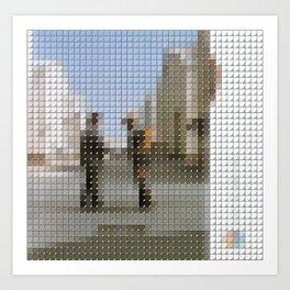 Pink Floyd - Wish you were here - Pantone Pop Art Print
