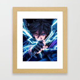 Sasuke Framed Art Print