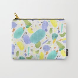 Chubby Watercolor marks Carry-All Pouch