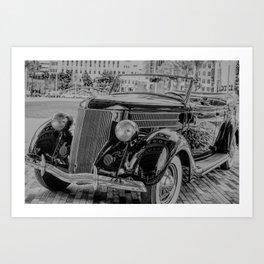 The Drive Art Print