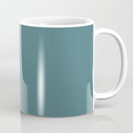 Solid Dark Beetle Green Color Coffee Mug