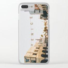 venice / los angeles, california Clear iPhone Case