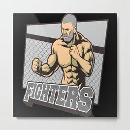 Mixed Martial Arts MMA Metal Print