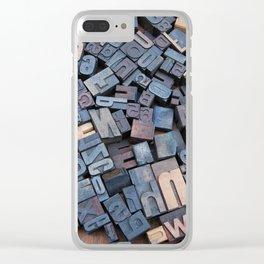 Unwritten Adventure Clear iPhone Case