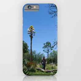 hiking men iPhone Case