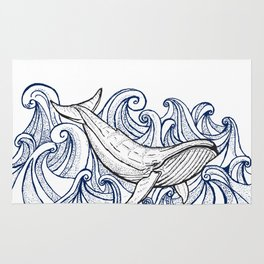 Whale Then Rug