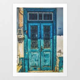 Vintage Greece Art Print
