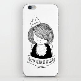 Soy la Reina de mi Casa iPhone Skin