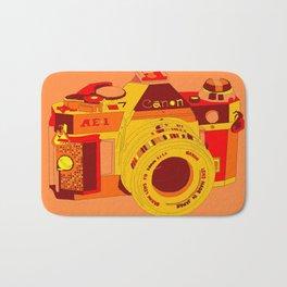 Canon Rebel Camera - Retro Bath Mat