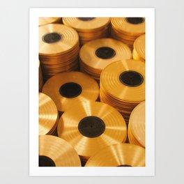 Vinyl Collection Art Print
