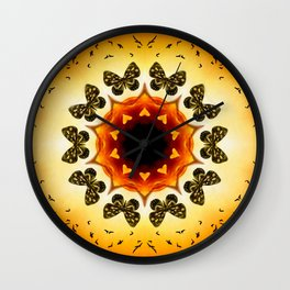 All things with wings Wall Clock