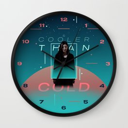 Cooler & Colder Wall Clock