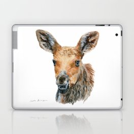 Little Moose by Teresa Thompson Laptop & iPad Skin