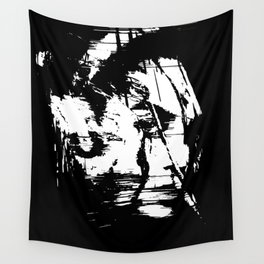 girl, vector, portriat Wall Tapestry