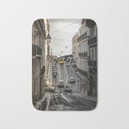 Lisbon street Bath Mat