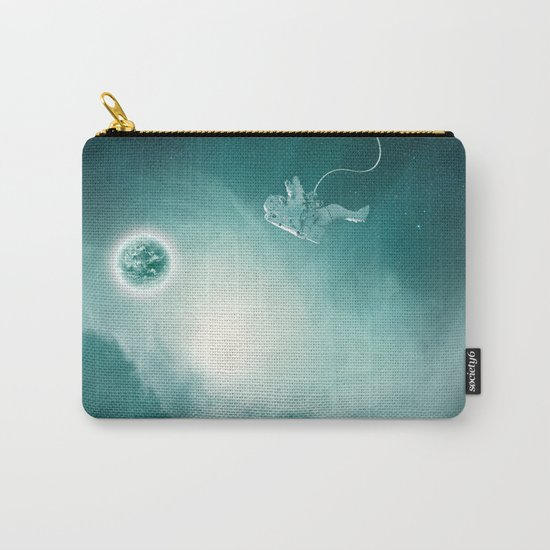 Astronaut Cast Away in Space Carry-All Pouch