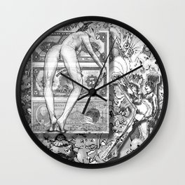 The constellation erotique 2525 Wall Clock