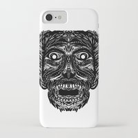 dracula iPhone & iPod Cases featuring Dracula by Jamie Bryan