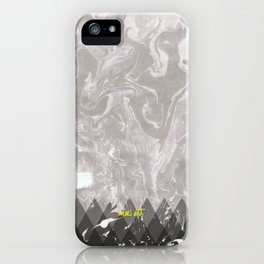 How the Ink Moves IV iPhone Case