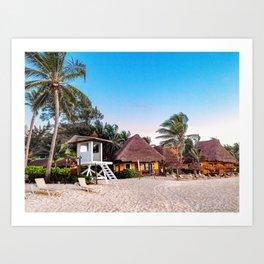 Paradise  ~  Playa del Carmen Art Print