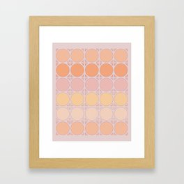 Lilac Connection Framed Art Print