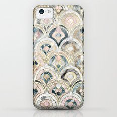Art Deco Marble Tiles in Soft Pastels iPhone 5c Slim Case