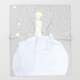LE PETIT PRINCE Throw Blanket