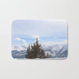 Wunderfull Snow Mountain(s) 4 Bath Mat