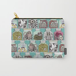 weird pickles blue Carry-All Pouch