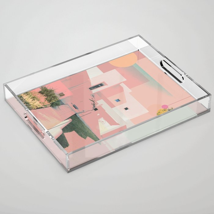 Saturation Acrylic Tray