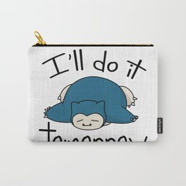 Snorlax i'll do it tomorrow Carry-All Pouch