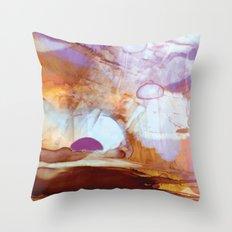 Alien Planet Throw Pillow