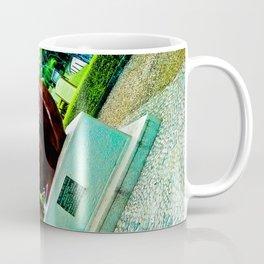 Dreamy eyes in intense colors. Coffee Mug