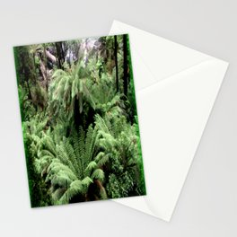 Ferns & Waterfall Stationery Cards