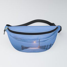 Misty Blue Waters Fanny Pack