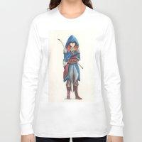 merida Long Sleeve T-shirts featuring Assassin Merida by Amanda