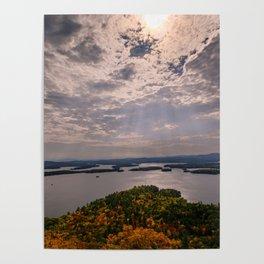 Squam Lake, 5-Finger Point Poster